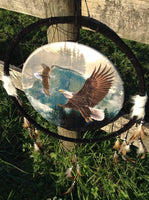 Homewares - XLarge Animal Spirit Brothers Dreamcatchers