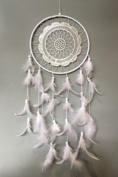 Flower Lace Dreamcatcher