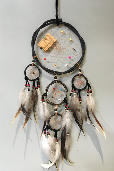 Large Wooden Gem Dreamcatcher