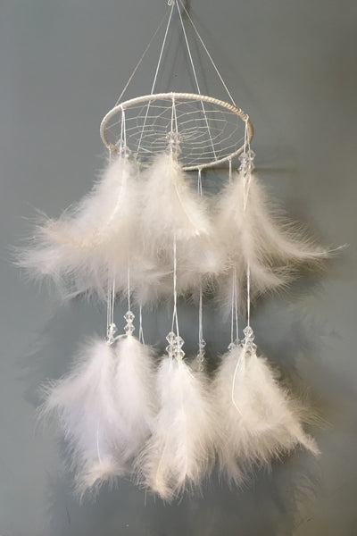 Fluffy Dreamcatcher Mobile