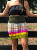 Mid Length Crochet Skirt
