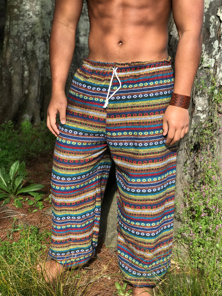 Ethnic Drawstring Pants