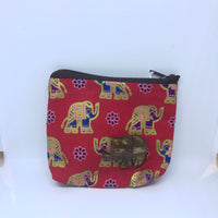 Wooden Elephant Coin Purse Overload