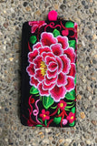 Martha Embroidered Wallet