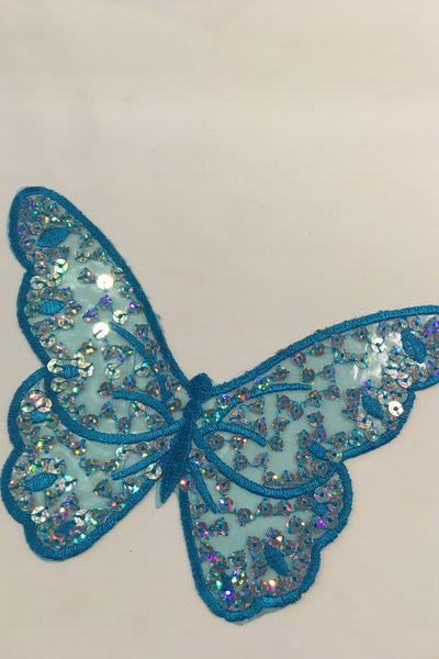 Blue Butterfly Patch