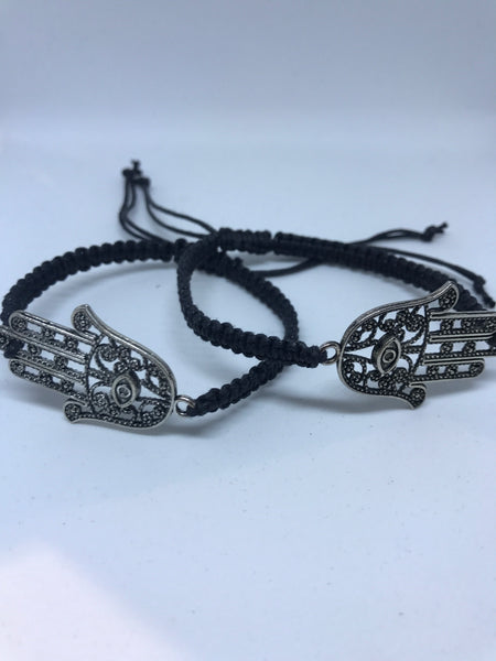 Hamsa Adjustable Bracelet