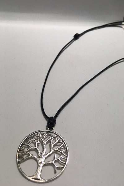 Metal Tree Of Life Necklace