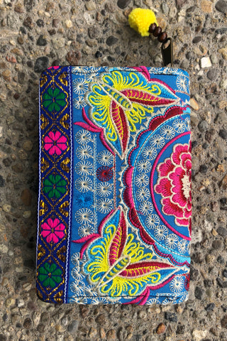 Anne Embroidered Wallet