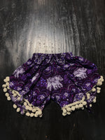 Kids Elephant Shorts with Pom Poms
