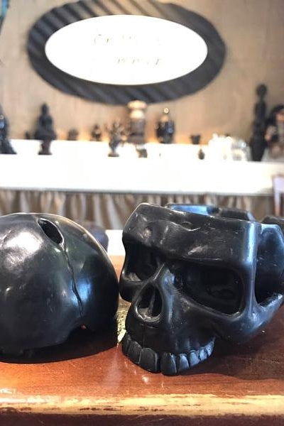 Plain Skull Incense Holder