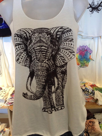 Top - Graphic Singlet - Elephant King