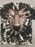 Tops - Glow In The Dark Tie Dye TShirt - Wolf Eyes
