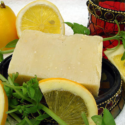 Citrus Basil Bath Soap