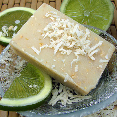 Coconut Lime Bath Soap