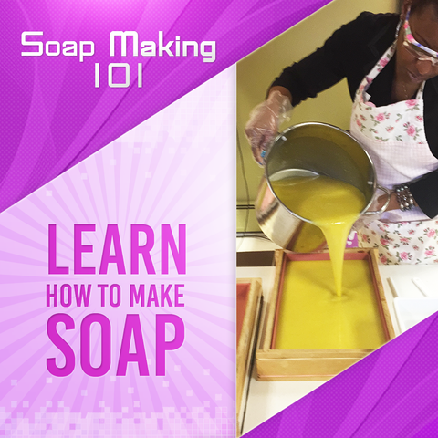 Online Basic Soap Making Instruction November, 21,2020
