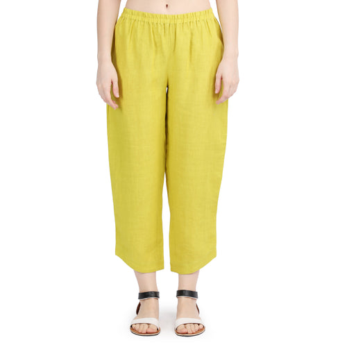 Lime Fully Elasticated Classic Pants