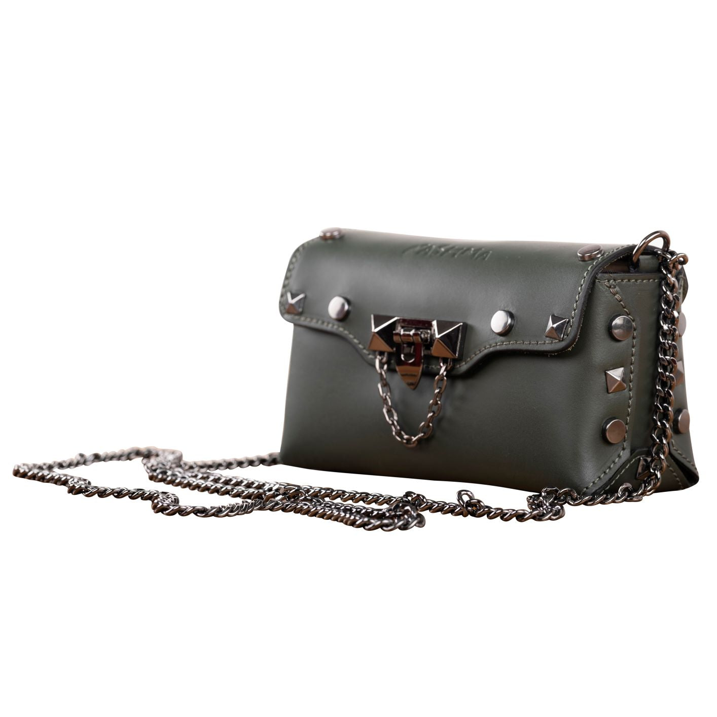 A STAR IS BORN LEATHER BAGUETTE ( BLACK )