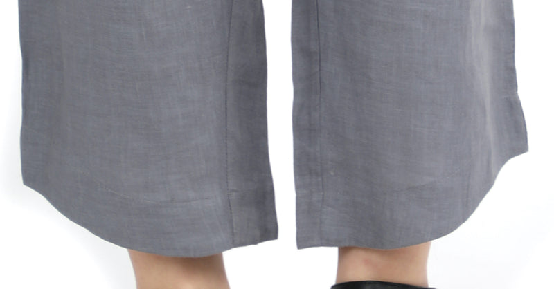 Soft Grey Fully Elasticated Classic Pants