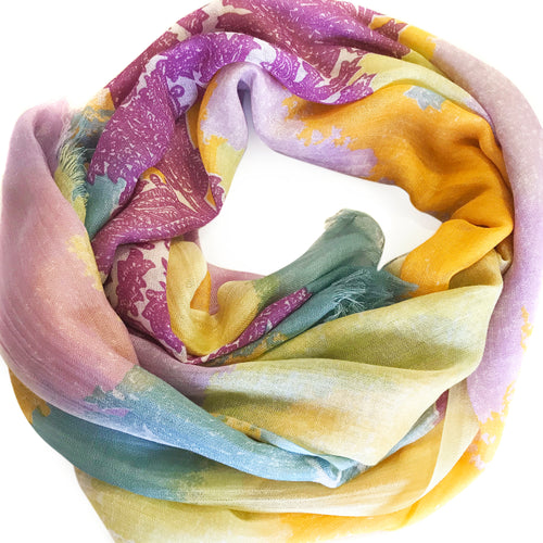Candy Rush Paisely Scarf