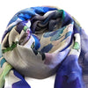 Flower Power In Blue Scarf