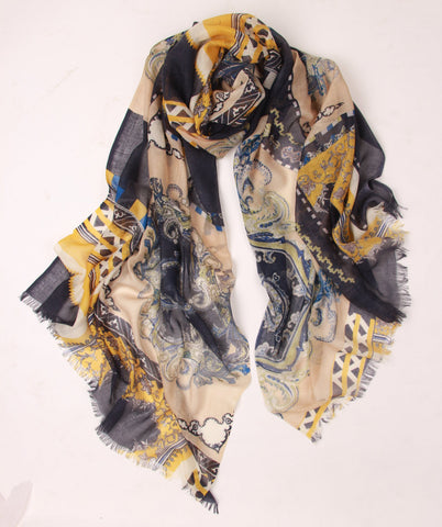 Royalty Paisley Scarf