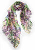 Multicolored Floral Print Scarf