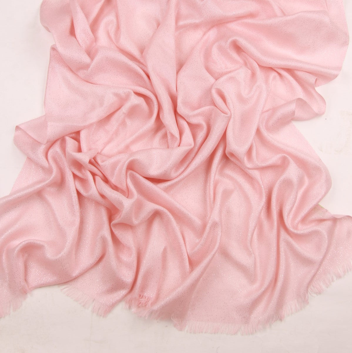 Veranda Blush Degrade Scarf in Cashmere and Silk