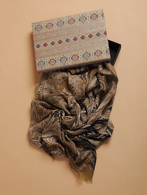 Pashma Cashmere shawl from Changpa Vintage collection