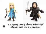 Game of Thrones Action Vinyls (Pack of 3)