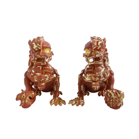 XXRAY Plus : Myth & Legends Foo Dogs (Terracotta) - Display Set