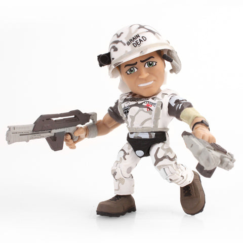 Aliens Action Vinyls - William Hudson (Grey Camo)