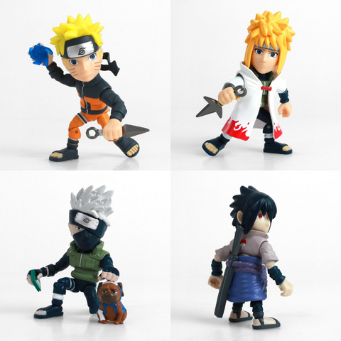 Naruto Action Vinyls (Pack of 4)