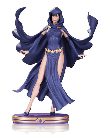 DC Comics Cover Girls : Raven Statue