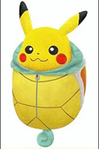 Pikachu Bag - Squirtle / Bulbasaur