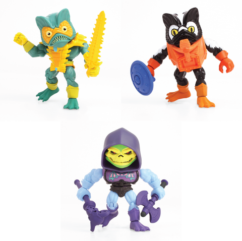 Masters of The Universe Wave 2 Action Vinyls (Evil Warriors Pack of 3)
