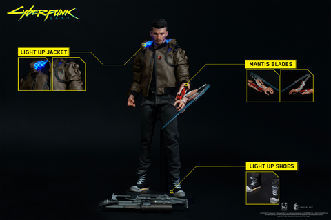 PureArts Cyberpunk 2077: V Male - 1/6 Fully Articulated Scale Figure (Pre-Order)