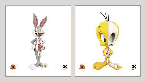 XXRAY Looney Tunes Wave 1 (Pack of 2)