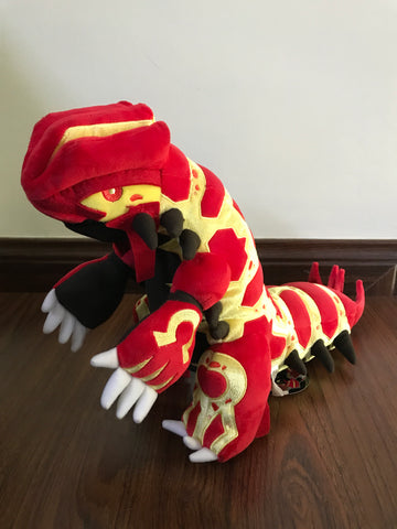 Primal Groudon Plush from Pokemon Center