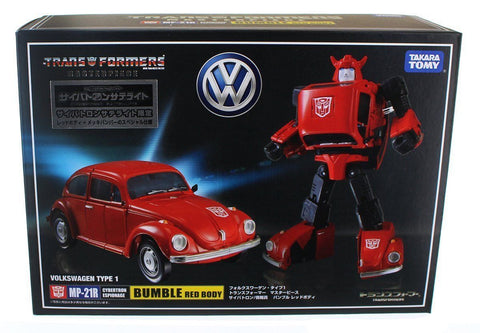 Takara Tomy Transformers Masterpiece MP-21R Bumbleebee Red Body - The Loot Chest - 1