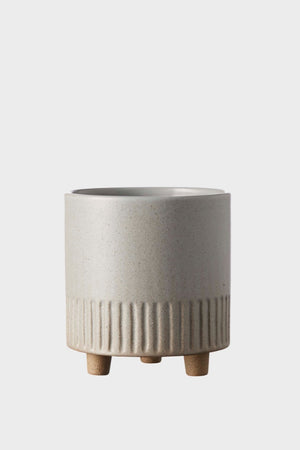 Birch Pot Medium - Fog