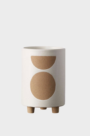 Birch Pot Tall - Chalk