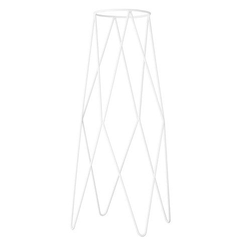 IVY MUSE HARLEQUIN PLANT STAND IN WHITE