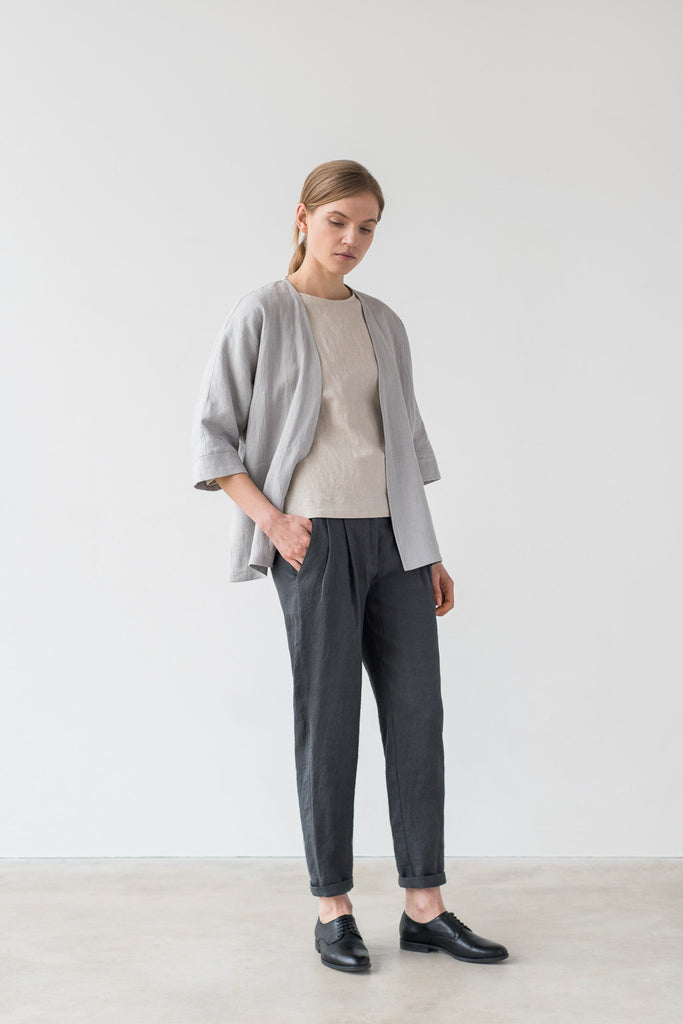 Hanna pants in charcoal gray - Ode to Sunday
