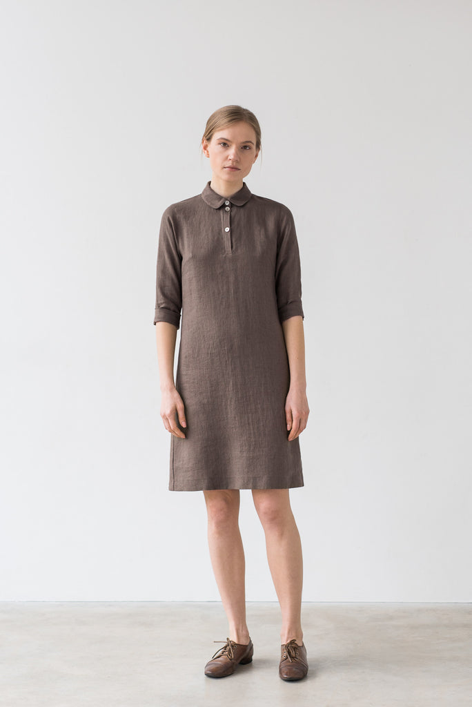 Emily dress in brown - Ode to Sunday