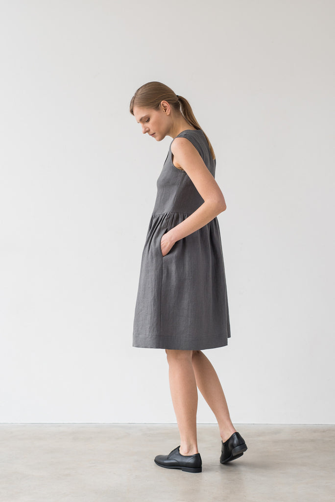 Helena dress in gray - Ode to Sunday