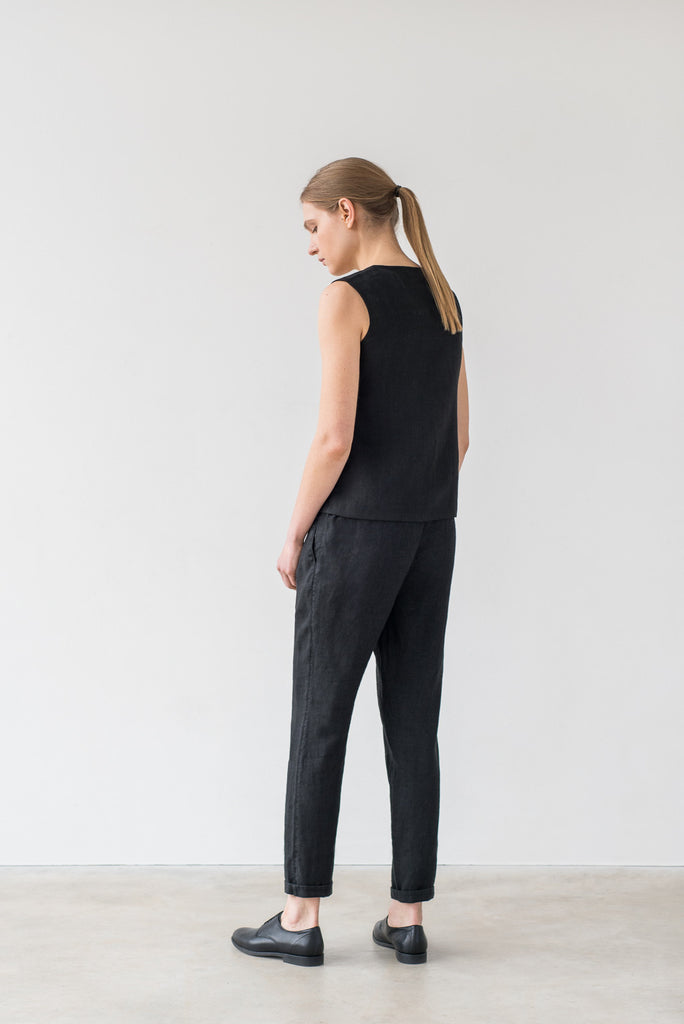 Hanna pants in black - Ode to Sunday