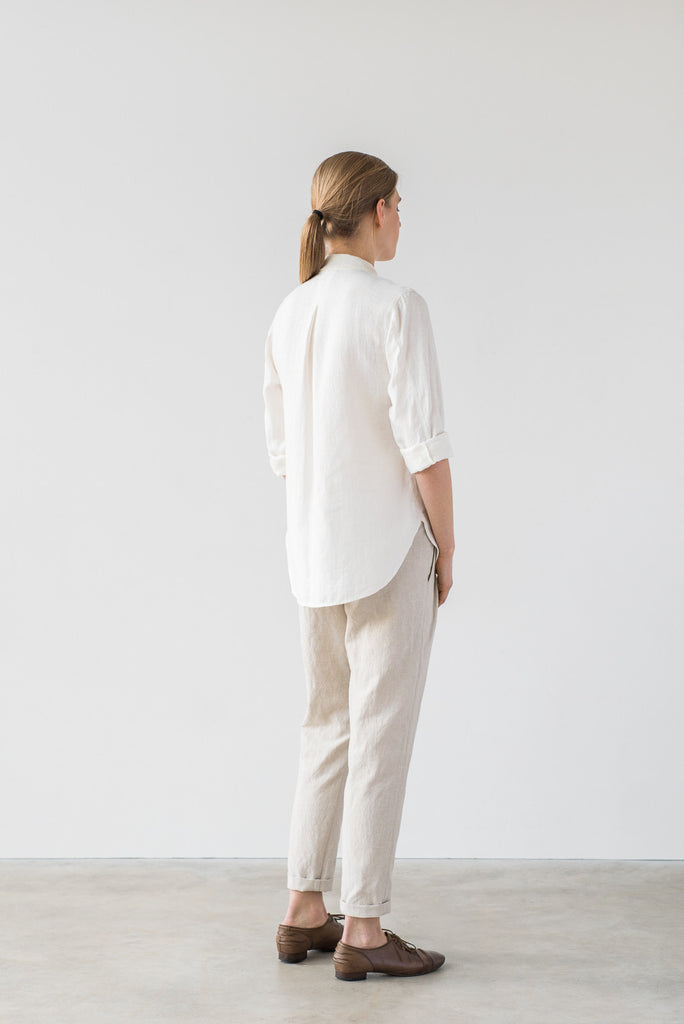 Naomi shirt in white - Ode to Sunday
