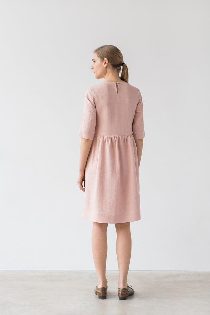 Colette dress in light pink