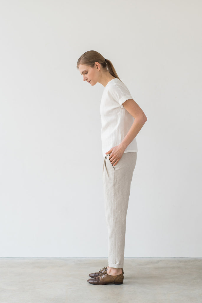 Hanna pants in cream - Ode to Sunday