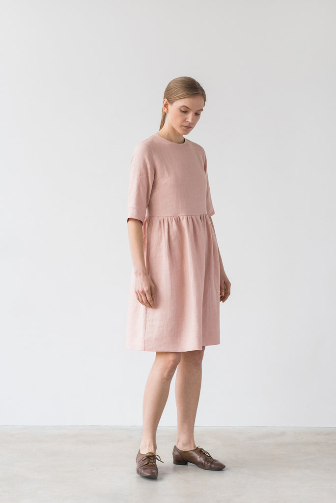 Colette dress in light pink - Ode to Sunday